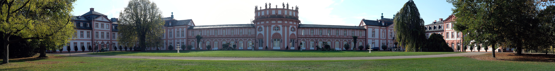 Panorama Schloß Biebrich