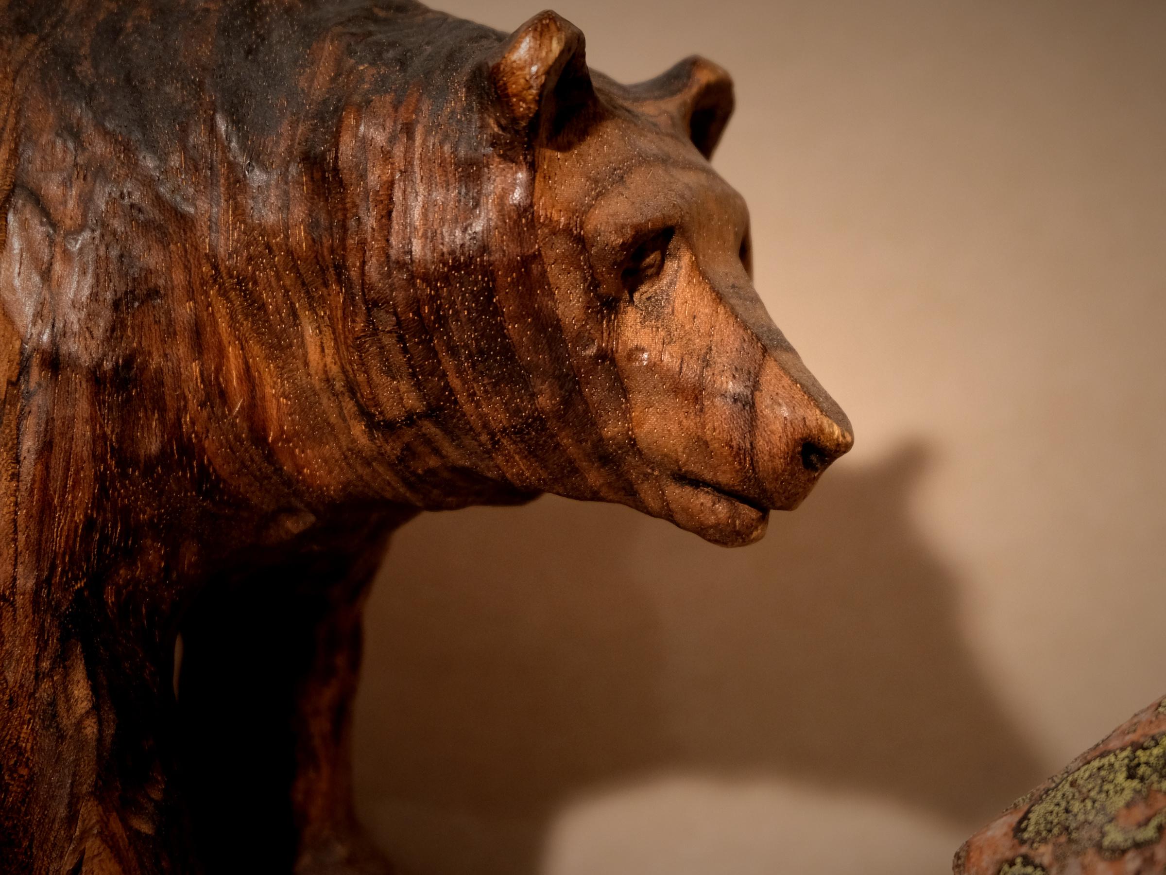 Skulptur Kontiokarhu
