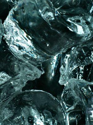 Schmelzendes Eis – drinnen und draußen